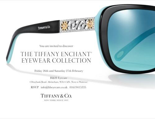 Tiffany & Co. Eyewear collection has arrived.